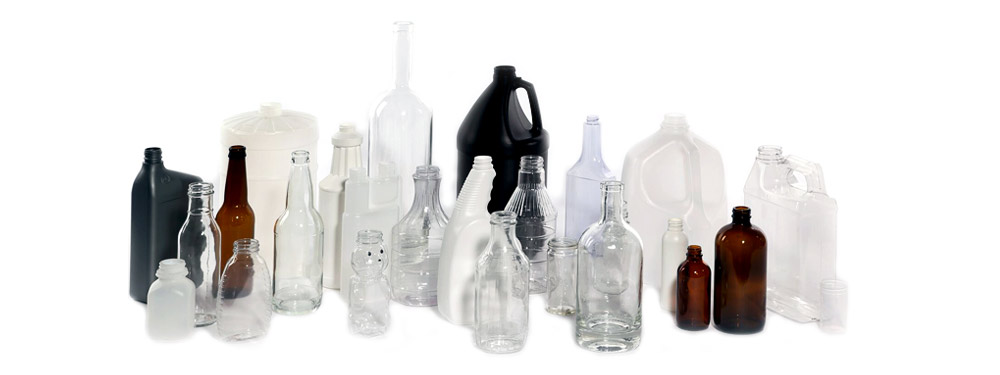 Grouping of bottles