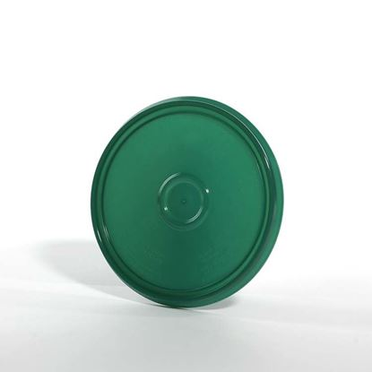 Picture of 1 Gallon HDPE Green #561C Cover w/ Pry Off