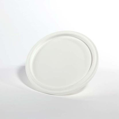 Picture of 1.5 - 3 Gallon HDPE White Cover w/ Pry Off