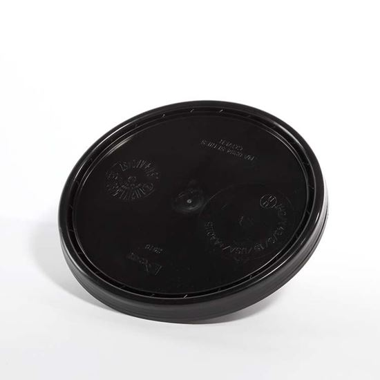 Picture of 3.5-6 Gallon HDPE Black Cover w/ Pry Off