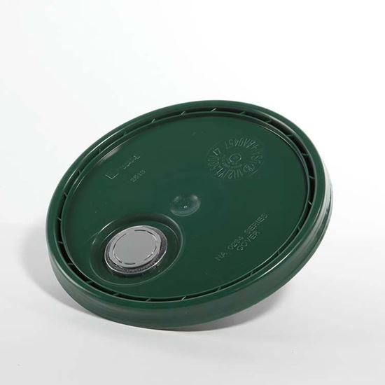 Picture of 3.5-6 Gallon HDPE Green Cover w/ Rieke Prep