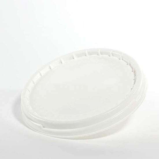 Picture of 7.7-10.7 Gallon HDPE White Cover w/ Screw Top