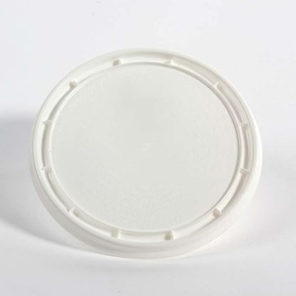 Picture of 32 oz White HDPE Tub Cover