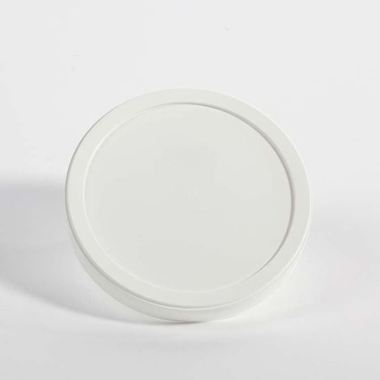 Picture of 32 oz White LDPE Tub Cover