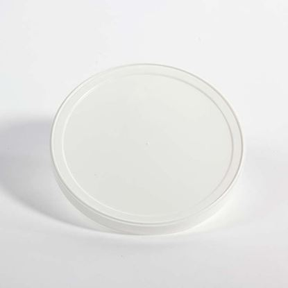 Picture of 50 oz White LLDPE Tub Cover