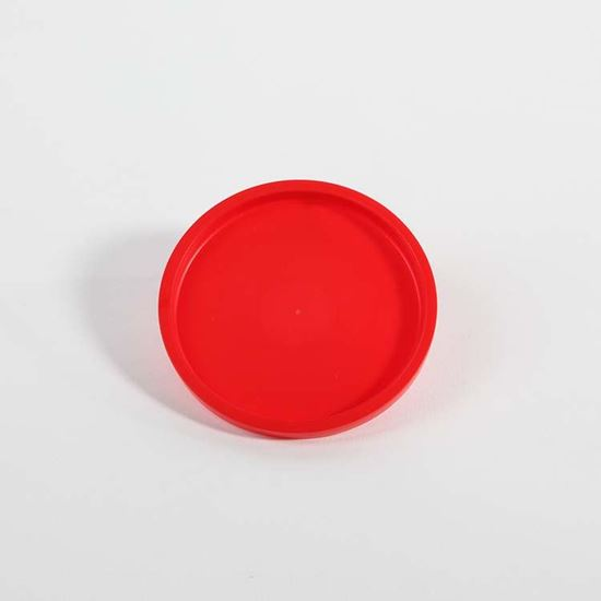 Picture of 6 oz Red LLDPE Tub