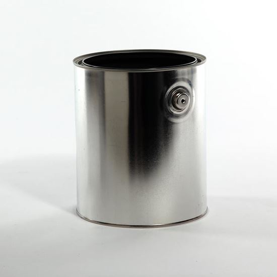 Picture of 610 X 711 Paint Can Gray Lined, w/ Ears