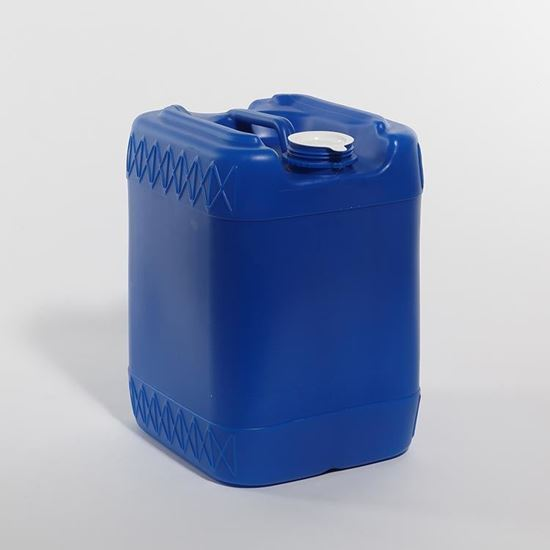 Picture of 20 L HDPE Blue Tight Head Pail w/ Closed Vent