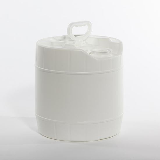 Picture of 3.5 Gallon HDPE White Tight Head Pail w/ Rieke Prep