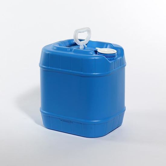 Picture of 4 Gallon HDPE Blue Tight Head Pail