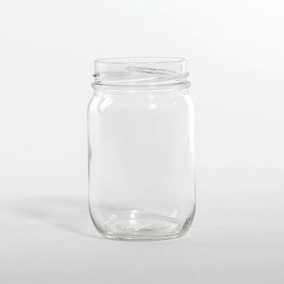 Picture of 14 oz Condiment Glass Jar