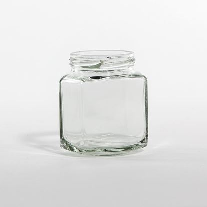 Picture of 190 ml Hex Glass Jar
