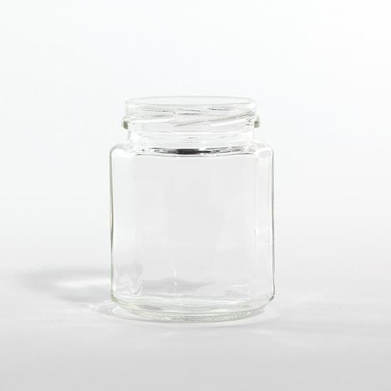 Picture of 9 oz Dodecagon Glass Bottle