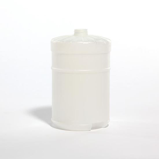 Picture of 128 oz Flat Top HDPE Bottle