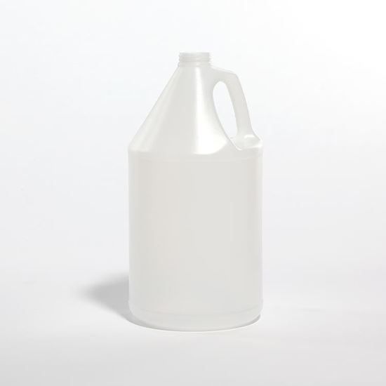 Picture of 128 oz Industrial Round HDPE Bottle