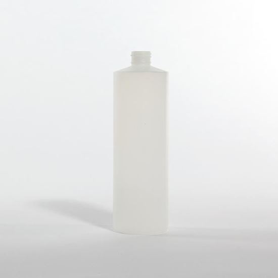 Picture of 16 oz Cylinder HDPE Bottle