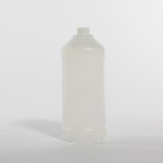 Picture of 32 oz Modern Round HDPE Bottle