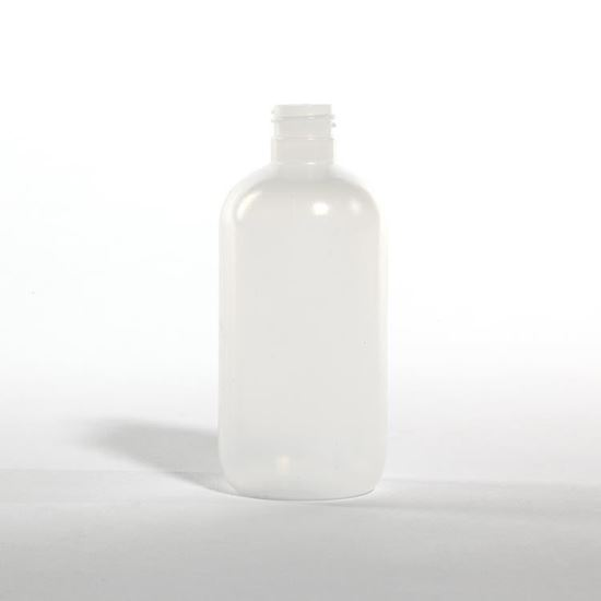 Picture of 8 oz Boston Round LDPE Bottle