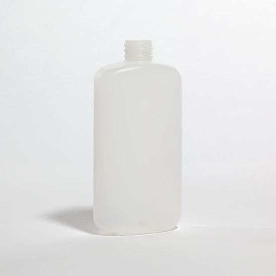 Picture of 8 oz Oval HDPE Bottle