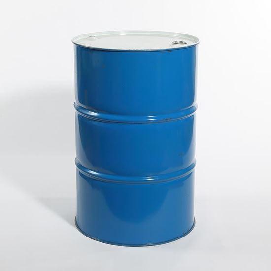 Picture of 55 Gallon Tight Head  Blue Steel Drum