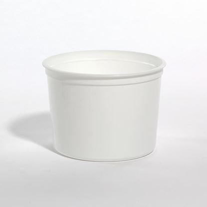 Picture of 50 oz White PP Tub