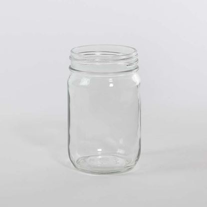 Picture of 12 oz Condiment Glass Jar