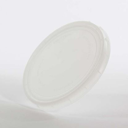 Picture of 32 oz Natural HDPE Tub Cover Vapor Lok