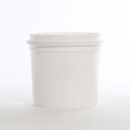 Picture of 64 oz White HDPE Tub Cover
