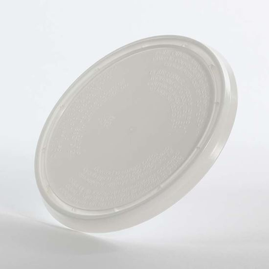 Picture of 64 oz White LDPE Tub Cover