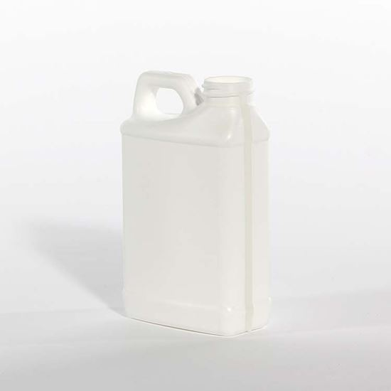 Picture of 8 oz F-Style HDPE Bottle