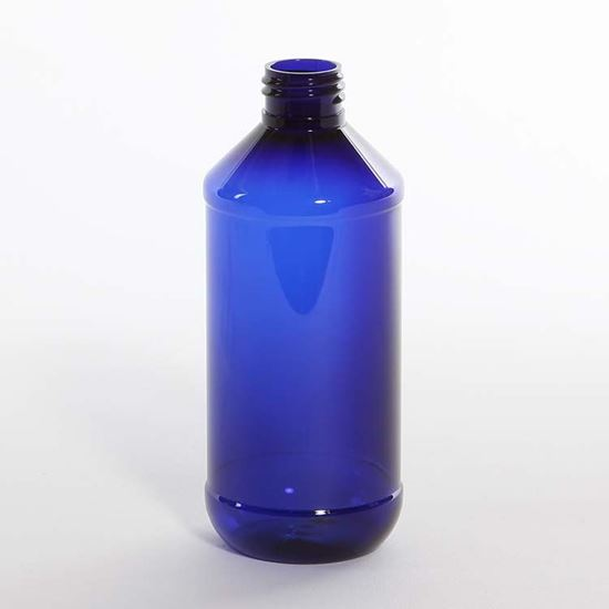 Picture of 8 oz Modern Round PET Bottle