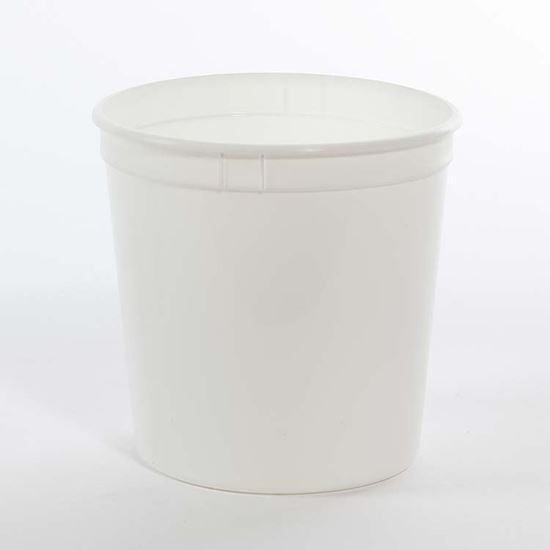 Picture of 85 oz White PP Tub No Handle