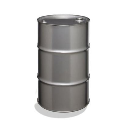 "Picture of 28 L Tight Head  Stainless Steel Drum with 2"" Fittings"