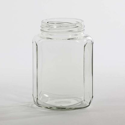 Picture of 1.5 oz Hex Glass Jar