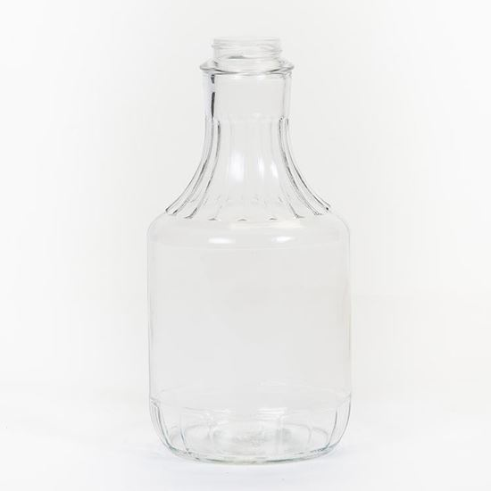 Picture of 32 oz Carafe (Decanter) Glass Bottle