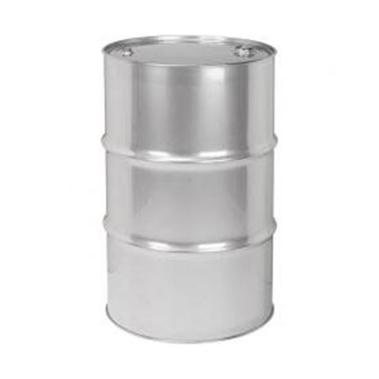 """Picture of 55 Gallon Tight Head  Gallonvanized Steel Drum with 2"""" and 3/4"""" PE IRR Fittings"""