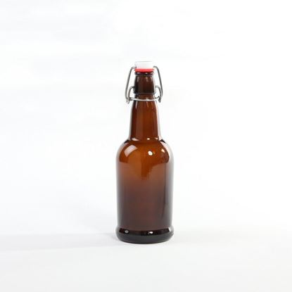 Picture of 16 oz Swing-Top Glass Bottle