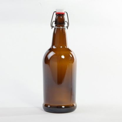 Picture of 32 oz Swing-Top Glass Bottle