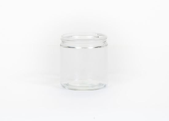 Picture of 16 oz Straight Side Glass Jar