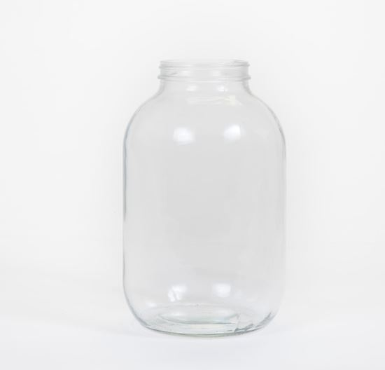 Picture of 128 oz Wide Mouth Glass Jar