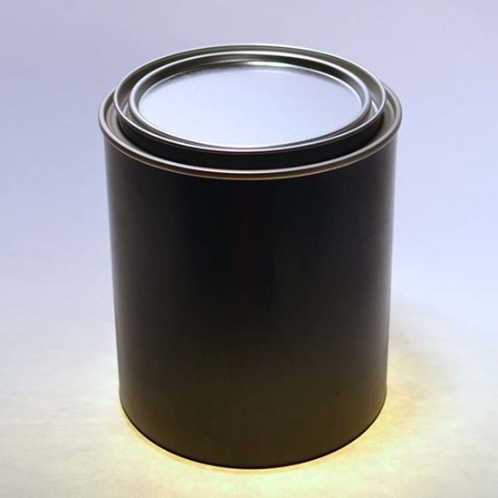 Picture of 1 Quart PP Black Can w/ Plug