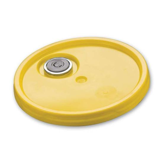 Picture of 5 Gallon HDPE Yellow EZ Cover