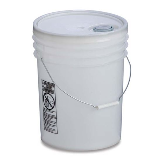 Picture of 5 Gallon HDPE Natural Open Head Nestable Pail