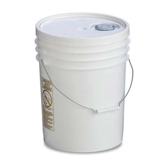 Picture of 5 Gallon HDPE White Open Head Nestable Pail