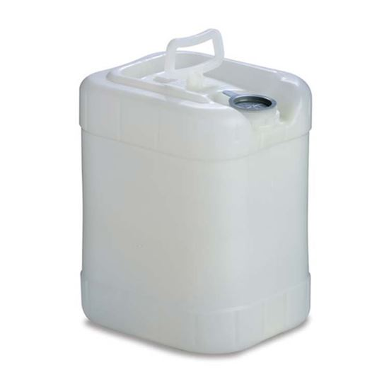 Picture of 5 Gallon HDPE Natural Tight Head Rectangular Pail