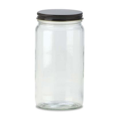 Picture of 16 oz AC Wide Mouth Glass Jar