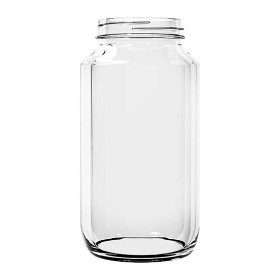 Picture of 24 oz Wide Mouth Sauce Glass Jar