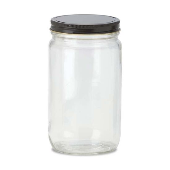 Picture of 32 oz Straight Side Glass Jar