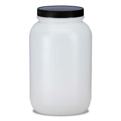 Picture of 128 oz Wide Mouth Plastic Jar