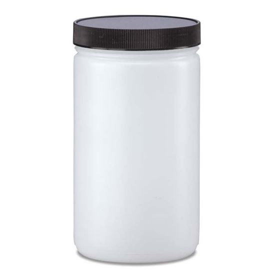 Picture of 32 oz Wide Mouth Plastic Jar